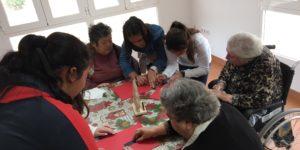 Encuentro intergeneracional CP Villa Alegría - Residencia San Pedro
