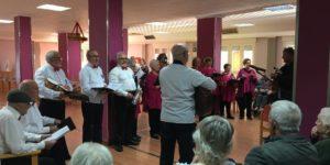 Actuación coro San Pedro y Lo Pagán en Residencia San Pedro 1