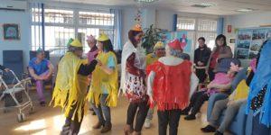 Fiesta de carnaval en el SED de Caravaca de la Cruz