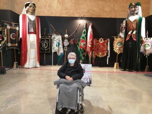 Exposición de la historia de Gigantes y Cabezudos SED Caravaca de la Cruz 1