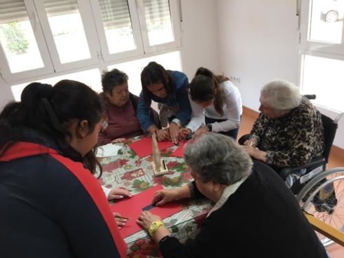 Encuentro intergeneracional CP Villa Alegría - Residencia San Pedro 3