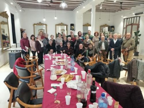 Desayuno en la sede de la asociación Círculo Mercantil-Halcones Negros del Desierto, Unión de Asociaciones 4