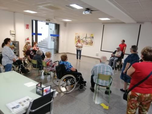 """SED de Molina visita la Sala de Exposiciones """"El Jardín"""" 2"""