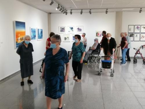 """SED de Molina visita la Sala de Exposiciones """"El Jardín"""" 1"""